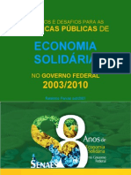 RELATORIO - AVALIACAO SENAES.2003-2010