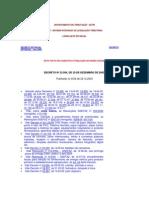 Decreto Regulamento Lei Incentivos Fiscais