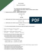 Redox & Electrochemistry
