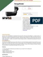 Simmons Laser Range Finder