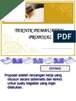 Teknik Pembuatan Proposal