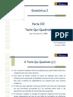05 Estatística I 2012 1 Economia - Teste Qui-Quadrado