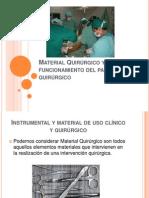 Material e Instrumental Quirurgico