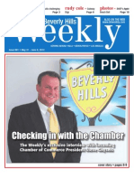 Checking in with the Chamber--Beverly Hills Weekly, Issue #661