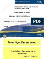 Investigacin en Salud