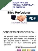 ÉTICA PROFESIONAL 1