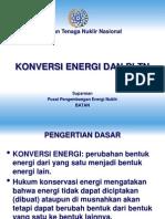 Konversi Energi-Teknologi PLTN