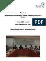Report on Barisal Workshop