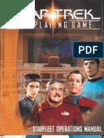 Star Trek RPG - Starfleet Operations Manual