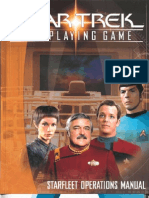 Star Trek RPG - Starfleet Operations Manual