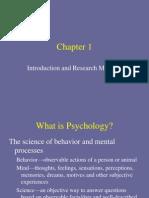 Psych Chapt 1