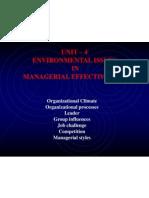 UNIT - 4 Organizational Climate_Organizational Process_ Leader