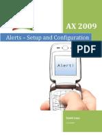Alerts - Setup and Configuration