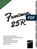 Frontman 25R Manual