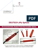 Jiffy Splice Data Sheet