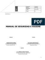 Manual Seguridad Higiene Meg 2011