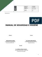 Manual Seguridad Higiene Meg 2011