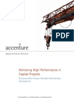 Achieving High Performance in Capital Projects