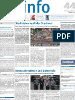 Stadtinfo Aalen - KW 22 - 2012