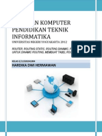 Pengertian Router, Routing Static, Routing Dinamic, Protokol Routing Dinamic, Membuat Tabel Routing