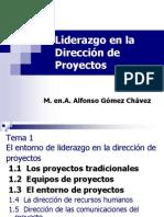 Liderazgo en Proyectos Clase 1