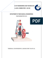 THERMAL ENGINEERING LAB MANUAL