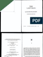 Blanchot-The Last Man