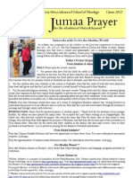 Jumaa Prayer 1june12