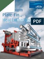 Aluminium Plate-Fin Heat Ex Changers - Linde