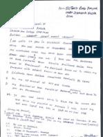 Seya's Letter to Museveni