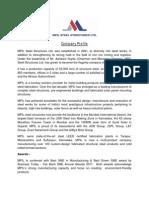 MPIL Steel Structures Ltd Profile