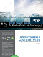 Moving Towards a Climate Neutral UN