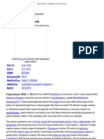 Tuberculosis - Wikipedia, The Free Encyclopedia