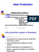 Power System Protection Basics..a Visit to Sheik Muhammadi Grid Peshawar.