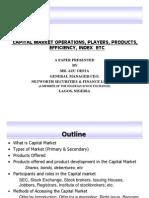 Capital Market Operations