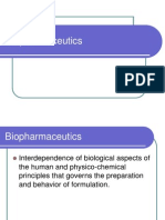 biopharmaceutics- Physicochemical parameters