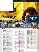 Pinnacle Product Guide Autumn 2012