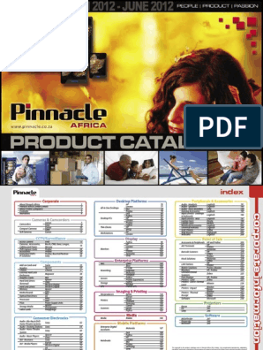 Pinnacle Product Guide Autumn 2012 | Capital Expenditure