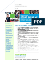 News Bulletin From Conor Burns MP #92