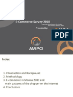 AMIPCI Study of Electronic Commerce in Mexico 2010