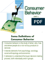 Studies on Consumer Behavior