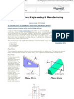 Solid Works Simulation _ Mechanical Engineering