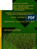 Patent Comparative Analysis