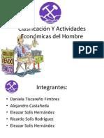 Clasificación Y Actividades del Sector Primario