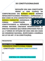 Controle de Constitucionalidade - Teoria Matutino - 29.05.2012