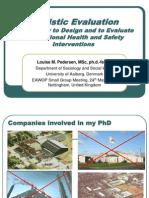05-22 2012 Presentation EAWOP, Louise M. Pedersen