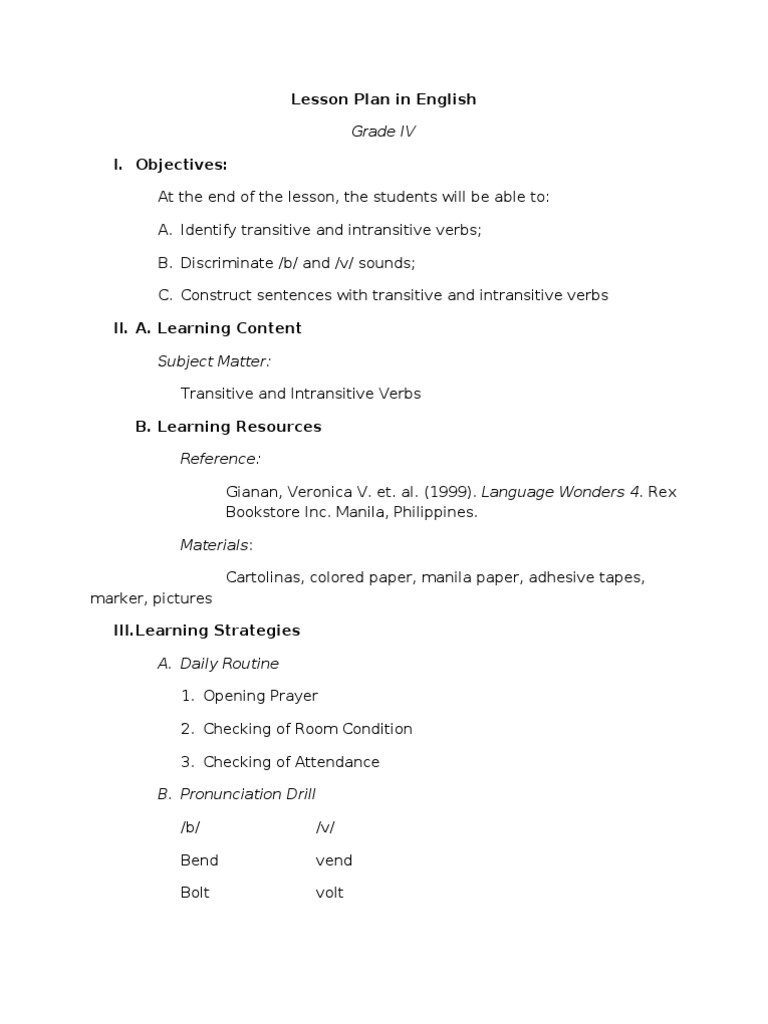 English-2-worksheets & Grade 2 Grammar Lesson 12 More About Verbs ...