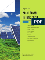 Report Solar Power in India Mar2011