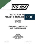 403 HayPro Truck-Trailer Manual