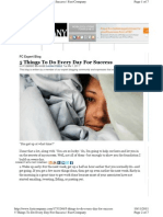 5 Things to Do Every Day For